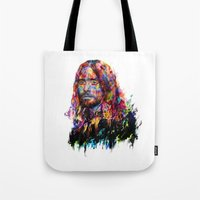jared leto Tote Bags featuring Jared Leto by ururuty