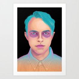 Neon DeHaan Art Print
