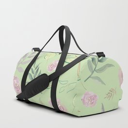 Simple and stylized flowers 5 Duffle Bag