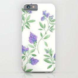 Alfalfa Watercolor iPhone Case