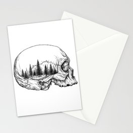 SKULL/FOREST Stationery Cards