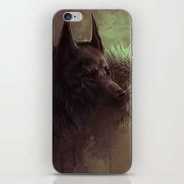 Wolfs Abstraction iPhone Skin