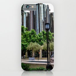 Maguire Garden Towers (color) iPhone Case