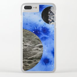 Space Factory #5 Clear iPhone Case