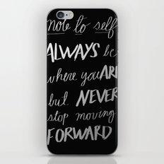 Note to Self: iPhone & iPod Skin