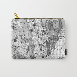 Vintage Map of Sydney Australia (1922) BW Carry-All Pouch
