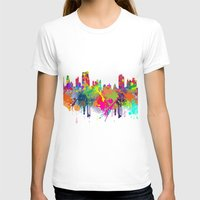 new york T-shirts featuring NEW YORK, NEW YORK by mark ashkenazi