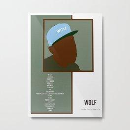 Tyler The Creator poster Metal Print
