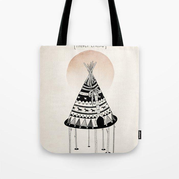 Fancy Living Tote Bag
