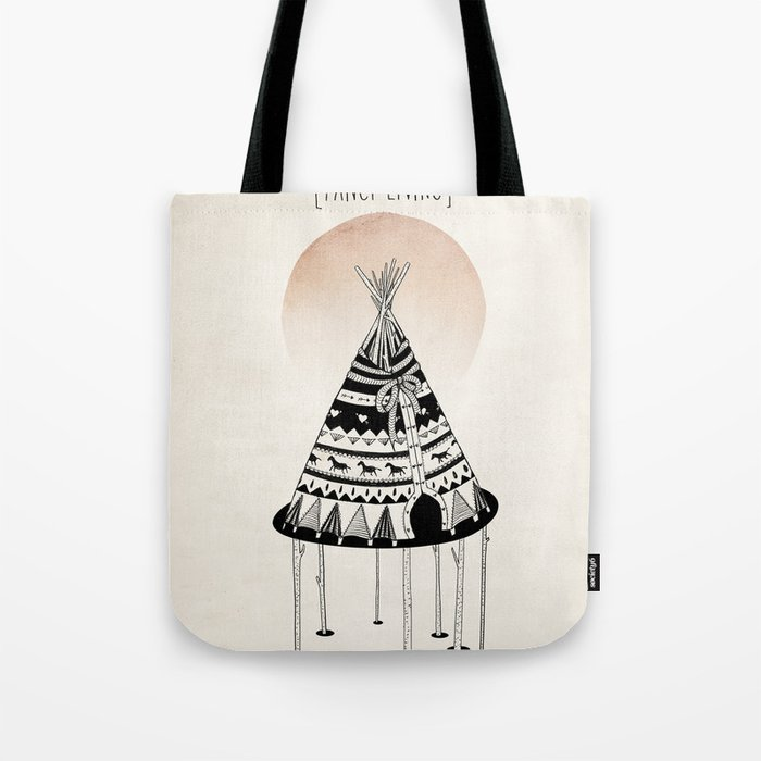 Fancy Living Tote Bag