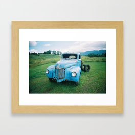 grill Framed Art Print