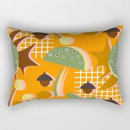 Autumn mushrooms Rectangular Pillow