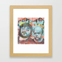Tenacious D - This Is Just A Tribute, To The Greatest Band In The World Framed Art Print