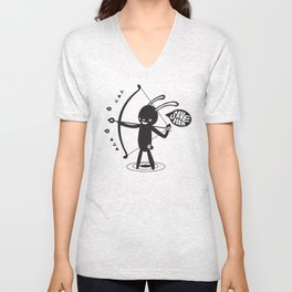 SORRY I MUST LIVE - DUEL 2 VER B ULTIMATE WEAPON ARROW  Unisex V-Neck