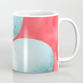 Robin's Egg Trio - Blue and Red Coffee Mug