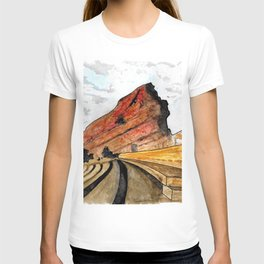 Red Rocks 2016 T-shirt