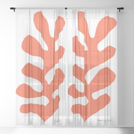 Henri Matisse, Papiers Découpés (Cut Out Papers) 1952 Artwork Sheer Curtain