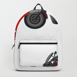 Merry Christmas Santa Claus Anti-Nicholas Muscle Santa Design Backpack