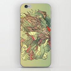 The hills are alive with the sound of Music. iPhone & iPod Skin