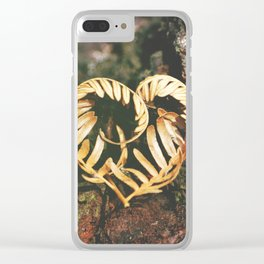Heart of the Forest Clear iPhone Case