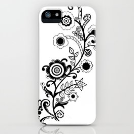 Mehindi Four iPhone Case