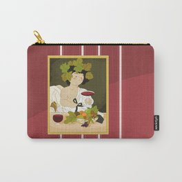 Bacco by Caravaggio Carry-All Pouch