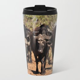 Cape Buffalo. Travel Mug