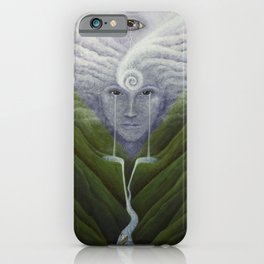 The Ocean Refuses No River iPhone Case
