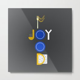 Food Joy Metal Print