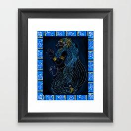 Yemaya Framed Art Print