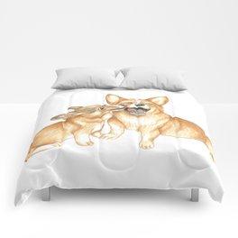 Corgi and Bess Comforters