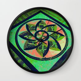 Pago Pago Green DPG160608c Wall Clock