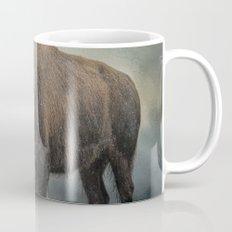 Stormy Day - Buffalo - Wildlife Mug