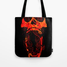 Chaos and Clarity ~ Red Tote Bag