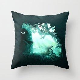 Meet the Monster Throw Pillow
