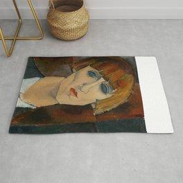 "Amedeo Modigliani ""Madame Kisling""(1917) Rug"
