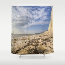 White Cliffs Of England Shower Curtain