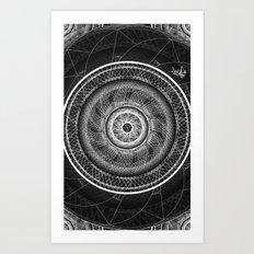 Geomathics Art Print