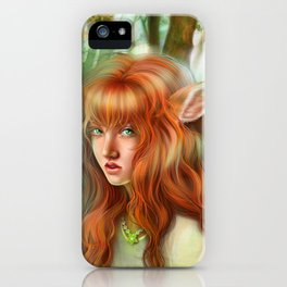 In The Woods - Bambie iPhone Case