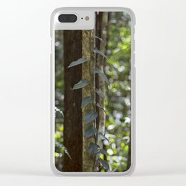 Forest Vine Clear iPhone Case