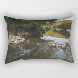 Water Is Wet Rectangular Pillow