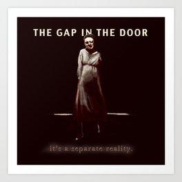 the Gap in the Door Art Print