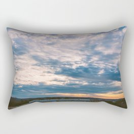 Tennessee-Georgia Border Rectangular Pillow