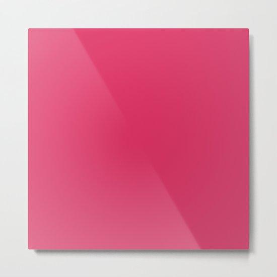 Simply Pink Punch Metal Print