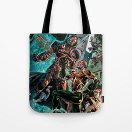 king of the seas Tote Bag