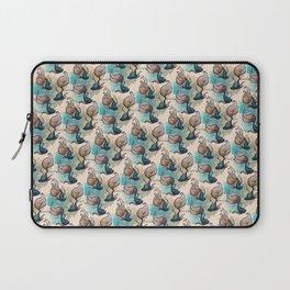 Betta Fish Pattern Laptop Sleeve
