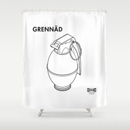 GRENNÄD Shower Curtain