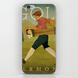 Vintage Golf iPhone Skin
