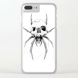Skulltula Clear iPhone Case