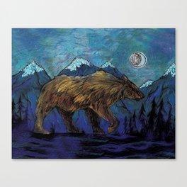 The Sleepwalker Canvas Print